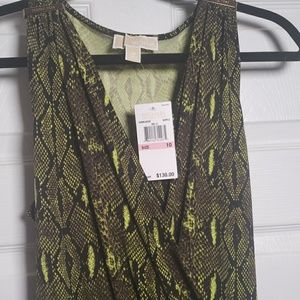 Michael Kors Snakeprint Dress